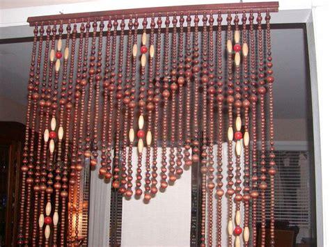 hippie bead curtains for doors vtg original 1960 s hippie archway door wood beaded
