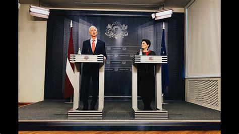 Preses konference pēc Ministru kabineta sēdes 10.03.2020 ...