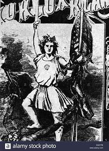 Ku Klux Klan Poster From 19th Century Stock Photo Royalty