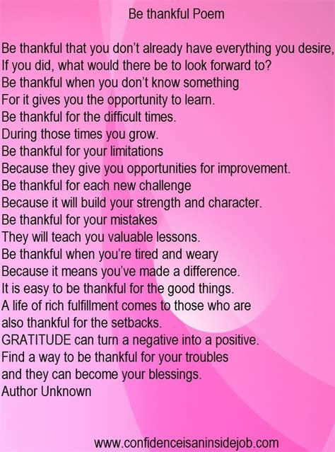 thankful poem  school thankful quotes life