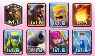 Best Clash Arena Royale Deck 7