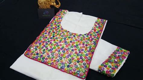 front design  kurtha simple craft ideas
