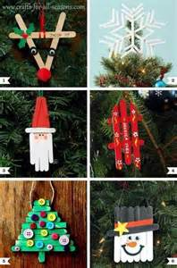 popsicle stick christmas decorations christmas decorations pinter