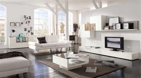 wohnwand hängend modern wohnzimmer regal dekorieren