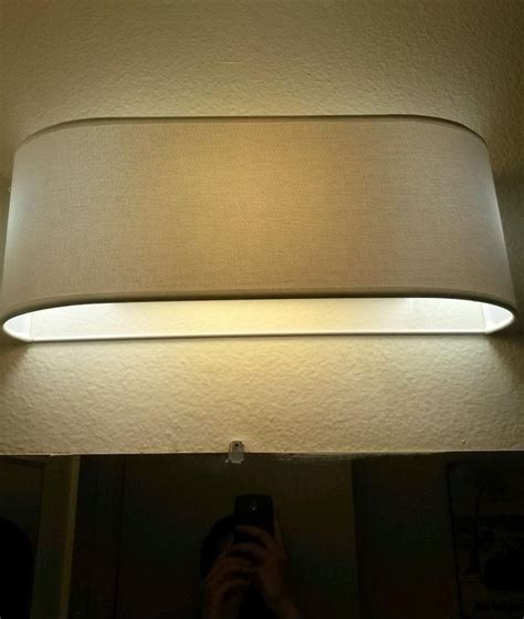 bathroom light fixture covers 20 best images about hiding vanity bulbs on pinterest