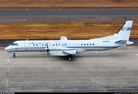 civil aviation bureau ja004g saab 2000 civil aviation bureau jetphotos