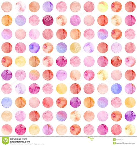 modern colorful dots seamless pattern stock illustration