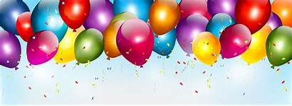 Balloons Banner Colorful Poster Birthday Balloon Pngtree