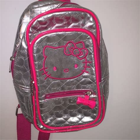 loungefly loungefly hello sling backpack