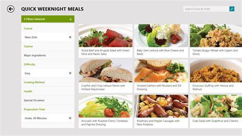 msn cuisine microsoft details windows 8 1 app food drink