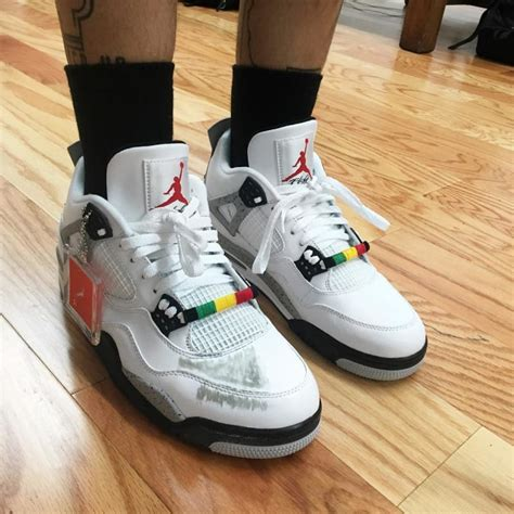 Exclusive Scuffed Air Jordan 4s Inspired By Spike Lee's Do