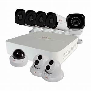 Revo Ultra HD 8 Ch. 2TB NVR Surveillance System with (8) 4 ...