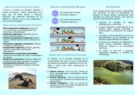 triptico de la contaminacion agua tokoonlineindonesia id