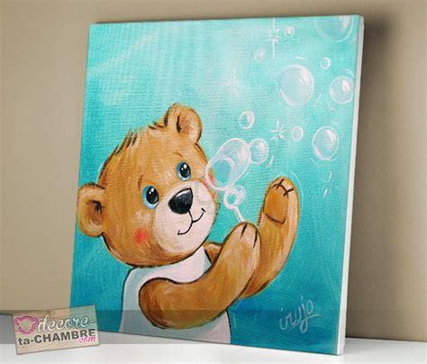 tableau deco chambre tableau ourson dco nounours pour chambre enfant vente