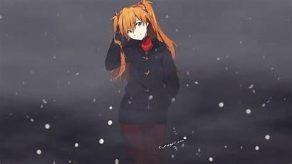 Asuka Evangelion Genesis Neon Langley Wallpapers Winter