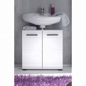 Waschbeckenunterschrank Weiß Hochglanz 60 : waschbeckenunterschrank sinies007 wei hochglanz wei ~ Bigdaddyawards.com Haus und Dekorationen