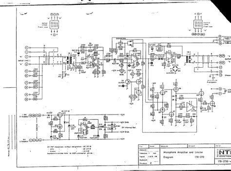 Index Schematics Pro Audio Micr Preamps