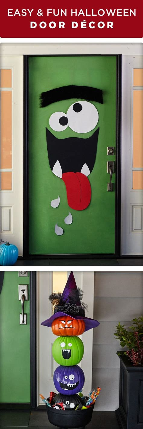 monster door ideas  pinterest halloween monster doors halloween door  monster
