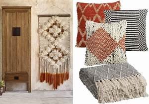 la deco a l39esprit tissage pour un interieur boheme With tapis kilim avec plaid pour canapé bz