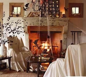 Decoration Halloween Maison : d co d 39 halloween terrifiante id es d co d coration de maison inspiration design int rieur ~ Voncanada.com Idées de Décoration