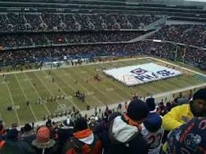 Soldier Field Section 441 Row 16 Seat 17 Chicago