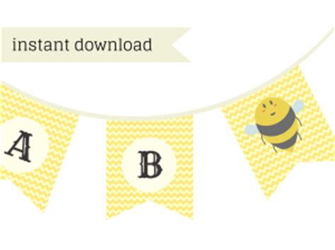 mommy  bee baby shower printable baby shower