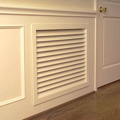 pretty return air grille   painted  match