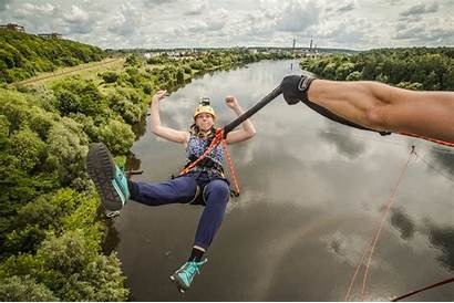 Bungee Jumping River Vilnius Guide Rock Lithuania