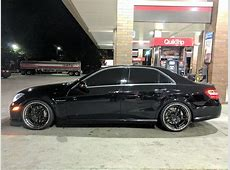 2012 AMG E63 lowered on Rotiform VDA two pieces MBWorld