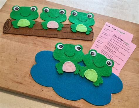 five frogs preschool felt board ideas felt 644 | afe6db2f0adc704274757c37e1b9ee33