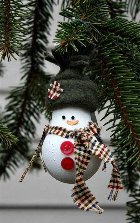 Weihnachtsdeko Noch Mehr Christbaumkugeln by Weihnachtsdekoration Ideen Christbaumschmuck Schneemann