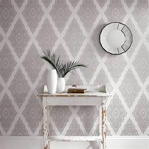 dco couloir gris beautiful gallery of indogate salon With good meuble style campagne chic 5 papier peint pour couloir comment faire le bon choix