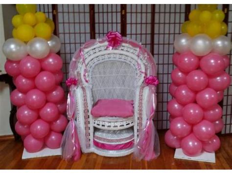 baby shower chairs centerpieces for sale