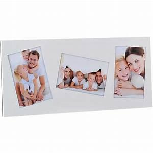 Cadre Blanc Photo : cadre photo blanc 3 vues 10x15 emd emd ~ Teatrodelosmanantiales.com Idées de Décoration