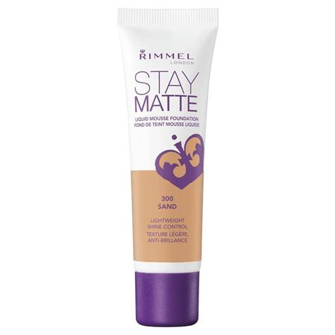 Rimmel Stay Matte rimmel stay matte foundation sand chemist warehouse