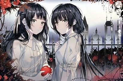 Anime Friends Hair Inu Apple Fruit Konachan
