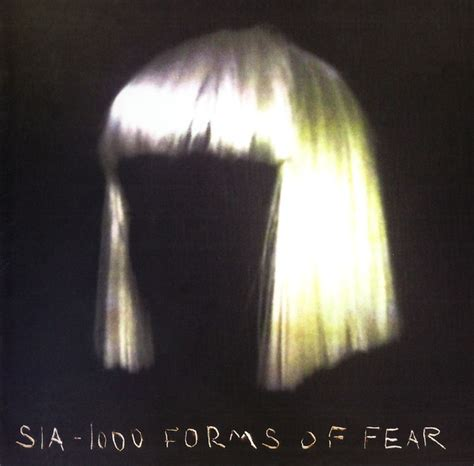 Chandelier Sia Album by Sia 1000 Forms Of Fear Cd Album At Discogs