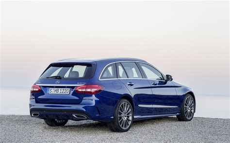 C Class Estate Wallpaper by 2015 Mercedes C Class Estate Blue Static 3