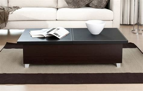 Lounge Black Contemporary Coffee Table  All Contemporary