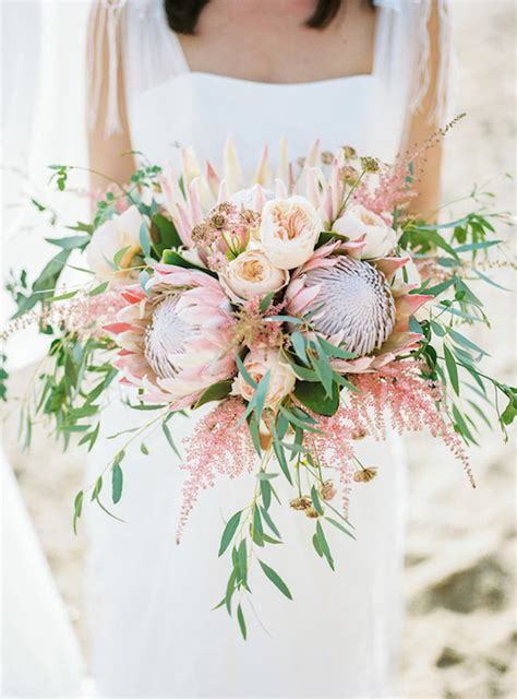 Protea Wedding Bouquets The Yes Girls