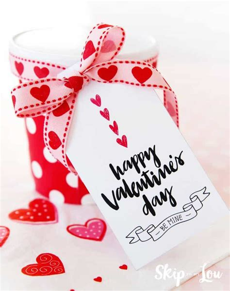 happy valentines day gift tags skip   lou