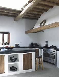 Küchen Vintage Style : werkeiland beton finca style k che pinterest finca k che und einrichten und wohnen ~ Sanjose-hotels-ca.com Haus und Dekorationen