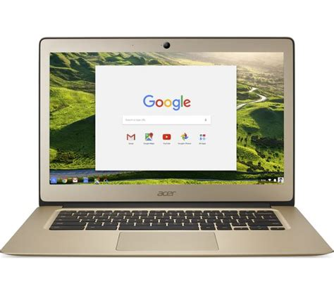 buy acer 14 cb3 431 chromebook gold free delivery currys