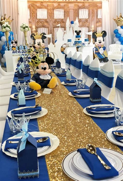 mickey  prince  birthday birthday party ideas