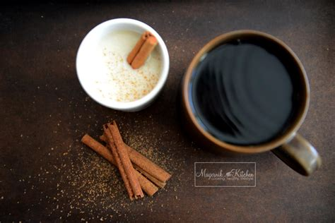 coffee  cinnamon narrative food photography