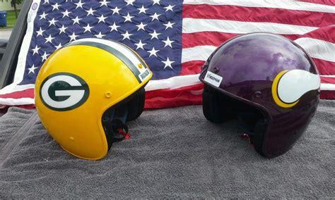 Find Minnesota Vikings Fan Appreciation Motorcycle Helmets