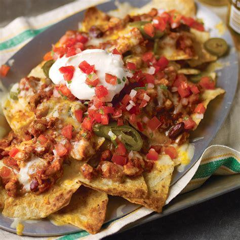 chicken chili nachos