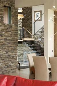 Deco Mur Interieur Moderne : d co cage escalier 50 int rieurs modernes et contemporains ~ Teatrodelosmanantiales.com Idées de Décoration