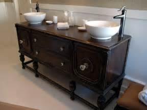 Diy bathroom ideas vanities cabinets mirrors more diy for Old dresser made into bathroom vanity