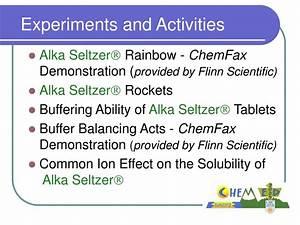 PPT - Plop! Plop! Fizz! Fizz! Oh, the things chemistry ...